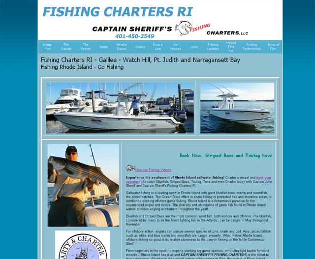 Rhode Island Charter Fishing Boats Charter Fishing Rhode Island