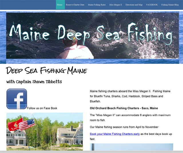 Charter boat new england charter boat listings fishing for Maine deep sea fishing charters