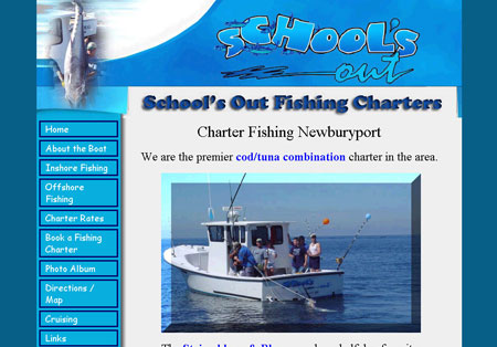 Schools Out Fishing