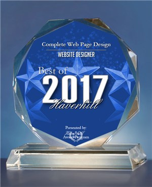 Best Website Designer 2017 Haverhill, MA