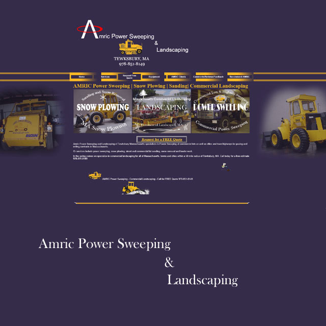 Amric Snow Plowing and Street Sweeping