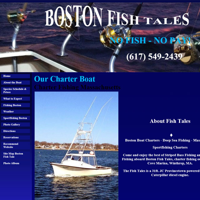 Boston Fish Tales