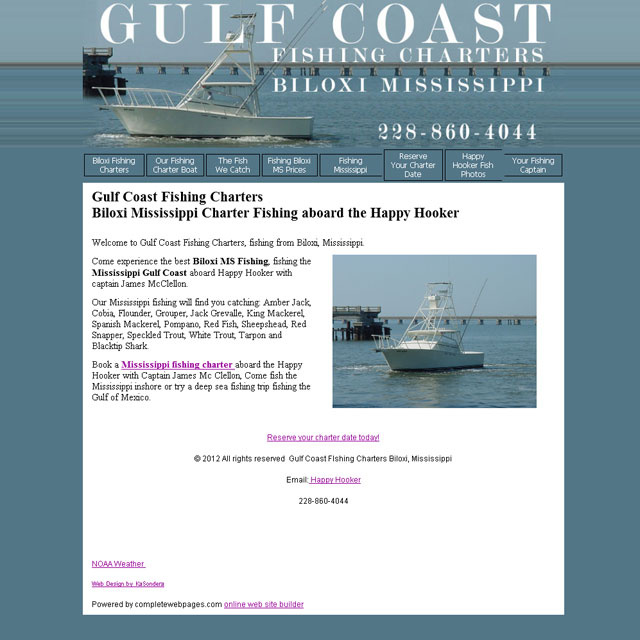 Gulf Coast Fishing Charters