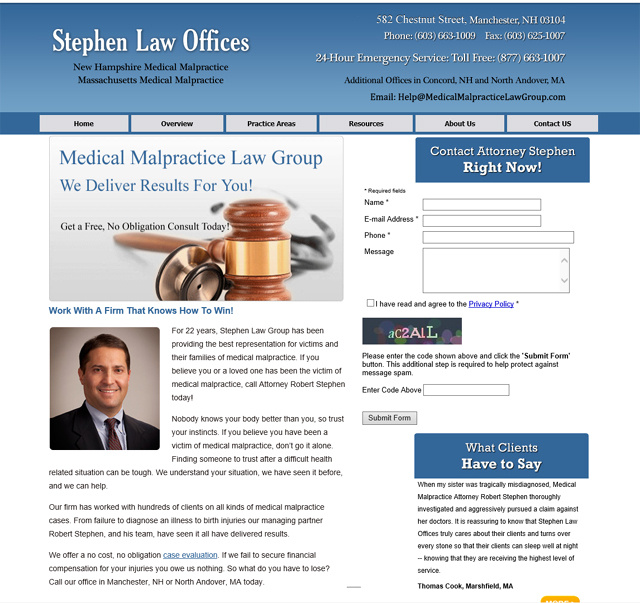 Medical Malpractice Law Group