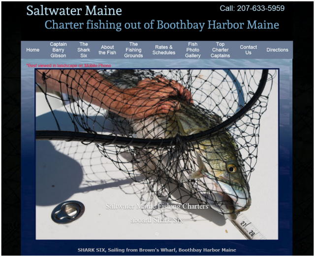 Saltwater Fishing Maine