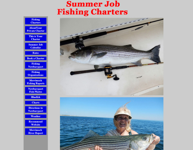 Summer Job Fishing Charters